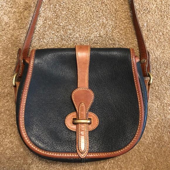 Dooney & Bourke Handbags - Vintage Dooney & Bourke Equestrian Mini Purse
